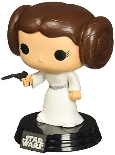 Funko - POP! Bobble Colección Star Wars - Figura Princesa...