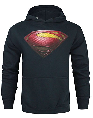 DC Comics Superman Man of Steel Logo Men's Hoodie