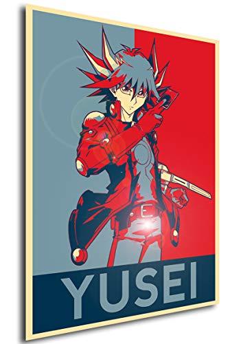 Instabuy Poster - Propaganda - Yu-Gi-Oh! - Yusei Fudo...