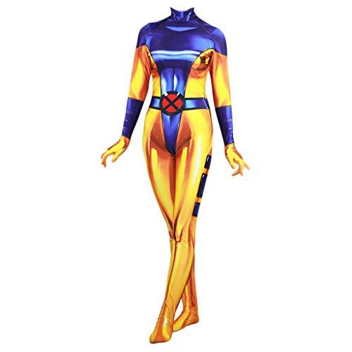 NDHSH X-Men Phoenix Mujer Disfraz de Disfraz de Damas Adulto...