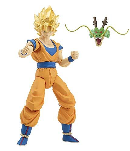 Bandai - Figura Dragon 17 cm Goku Super Saiyan (35856)
