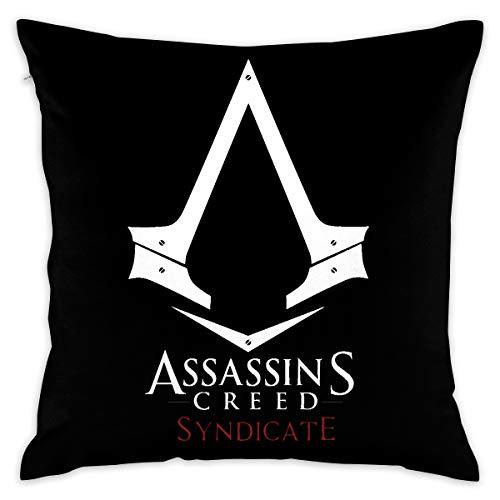 JIAYICENK Assassin'S Creed - Funda de cojín Decorativa...