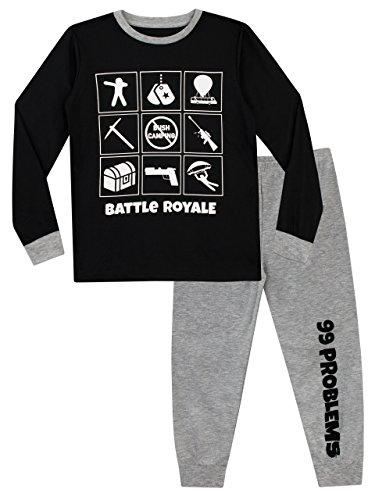 Battle Royale - Pijama de mangas largas para niño - Modelo...