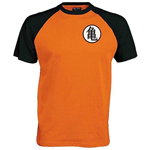Lifeguardgear Goku - Camiseta de béisbol con símbolo de...