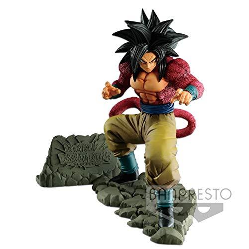 Ban Presto Dragon Ball Estatua Goku Super Saiyan, Multicolor...