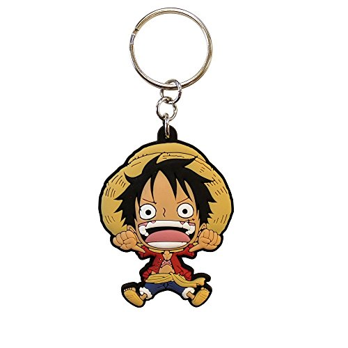 ABYstyle - ONE PIECE - Llavero PVC - Luffy SD