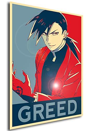 Instabuy Poster Propaganda Fullmetal Alchemist Greed Ling...