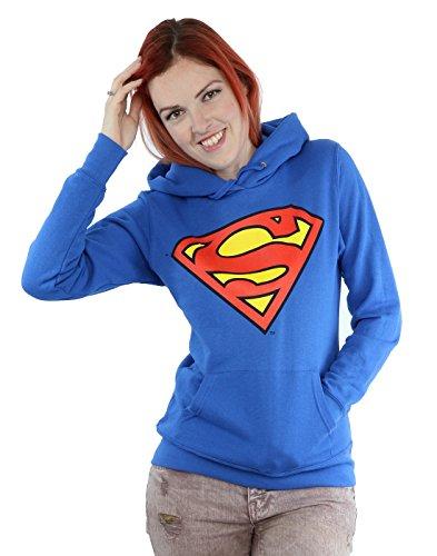 Official Superman Shield Logo Women's Hoodie (XL)