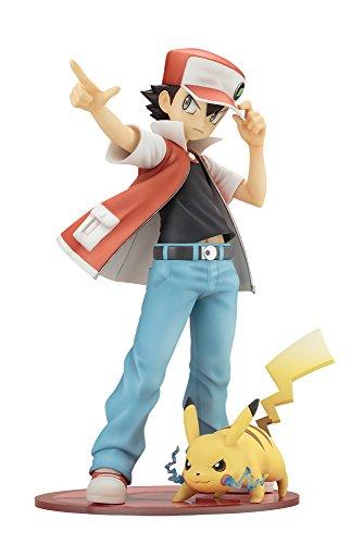 Pokemon Figure Series - Red with Pikachu [ARTFX...