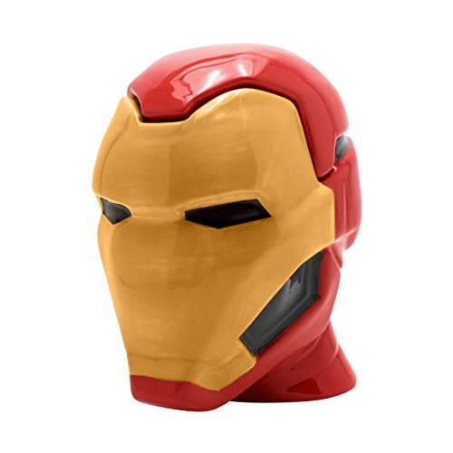 ABYstyle - MARVEL - Taza 3D - cambia color con calor - Iron...