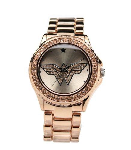 Reloj Mujer Maravilla Rosegold con piedras de tono...