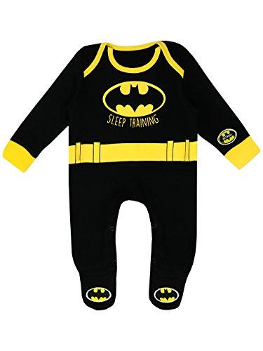 Batman Pijama Entero para Niños Bebés DC Comics - 9-12...
