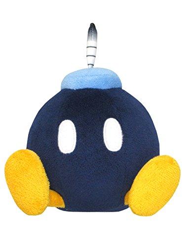 Sanei Super Mario All Star Collection 5' Bob-omb Plush,...
