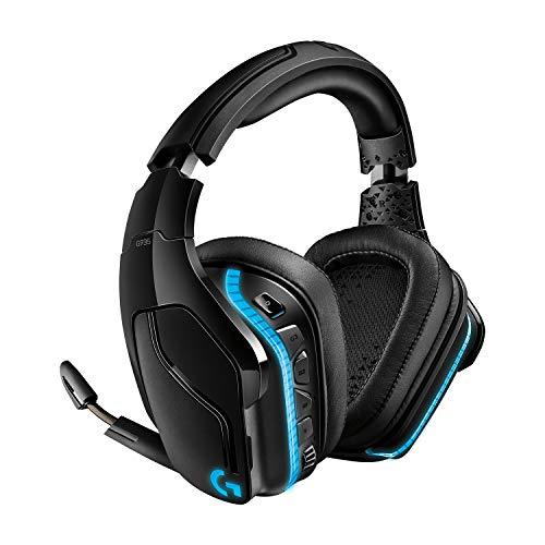 Logitech G935 Auriculares Gaming RGB Inalámbrico, Sonido...