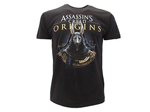 Assassin's Creed T-Shirt Camiseta Gold ANUBI Anubis tamaño...