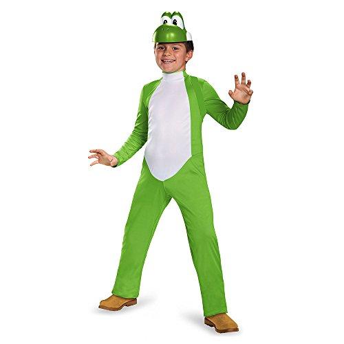 Nintendo Super Mario Bros DISK85140G Disfraz Yoshi, L