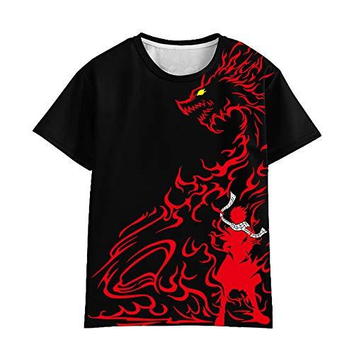 Fairy Tail Camiseta Camiseta de Manga Corta de Estilo...