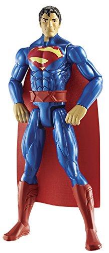 Batman - Figura Grande de Superman, 30 cm, Color Rojo y Azul...