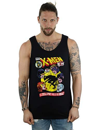 Marvel Hombre X-Men Professor X Is Dead Camiseta Sin Mangas...