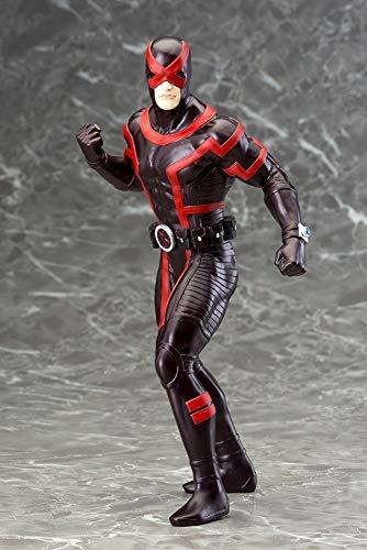 Marvel Cyclops Figura, Color Negro, Rojo, 20 cm (Bandai...