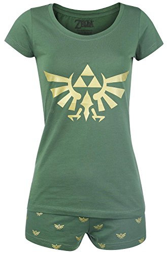 Meroncourt Zelda Hyrule Nightwear Conjuntos de Pijama,...