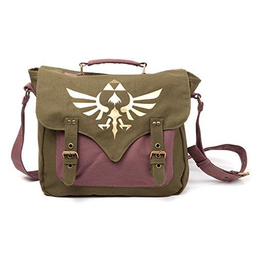 Legend of Zelda MB060223NTN - Bolsa Bandolera con logotip...