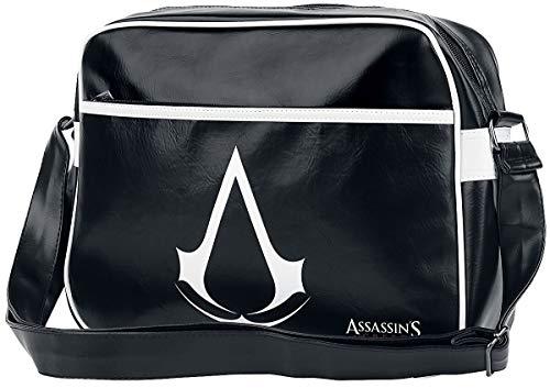 Assassin's Creed Logo Bolso bandolera Negro