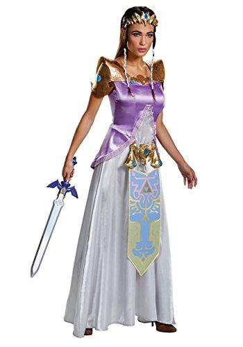 Disguise Adult Zelda Deluxe Fancy Dress Costume Large