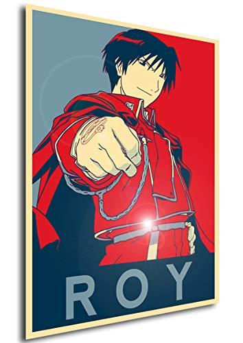 Instabuy Poster Full Metal Alchemist Propaganda Roy - FMA -...