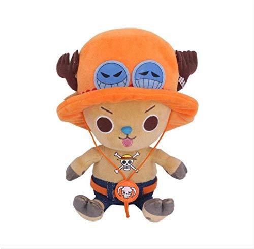 ypzz Peluche, One Piece Sailing King Cartoon Comic Doll,...