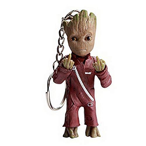 thematys Baby Groot Llavero - Figura de acción de la...