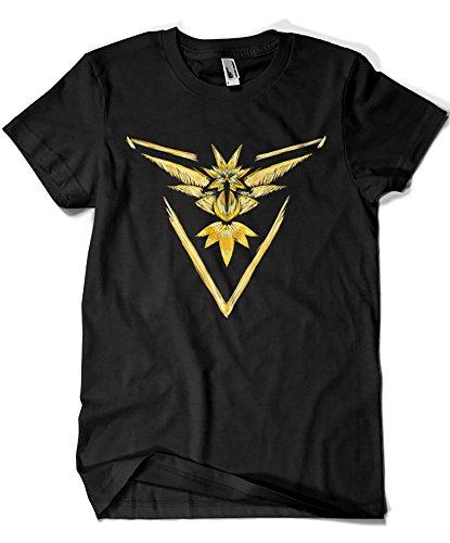 1560-Camiseta Pokemon Pokemon Go Team Instinct (Legendary...