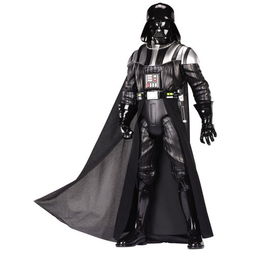 Star Wars - Figura Darth Vader de 50 cm, color negro (Jakks...