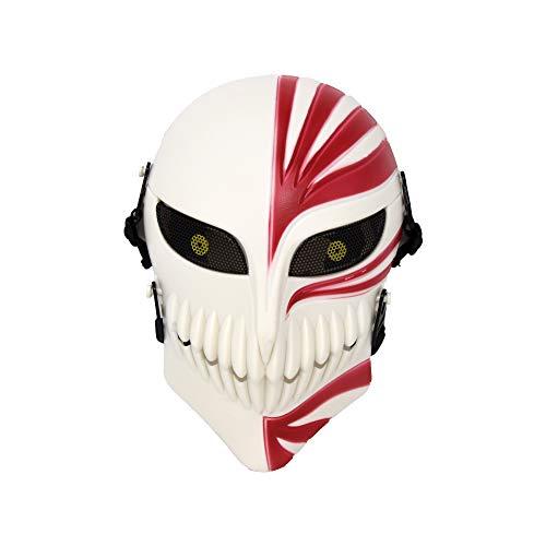 Bleach Ichigo Kurosaki - Máscara hueca de Halloween para...