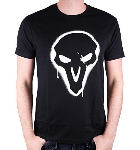 Overwatch la Camiseta para Hombre del segador Aerosol Logo...