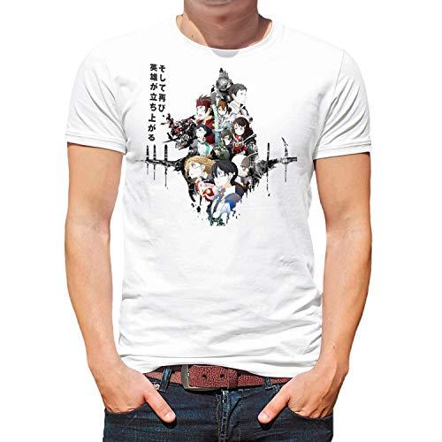 Camiseta Serie Manga y Anime Hombre - Unisex Sword Art...