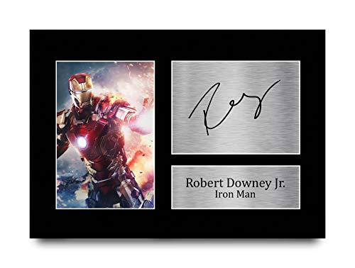 HWC Trading Robert Downey Jr A4 Sin Marco Regalo De...