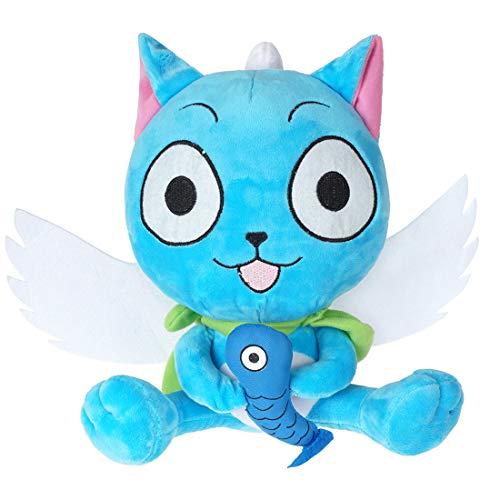 Peluche de Fairy Tail | Chat de Peluche de Happy | 25cm