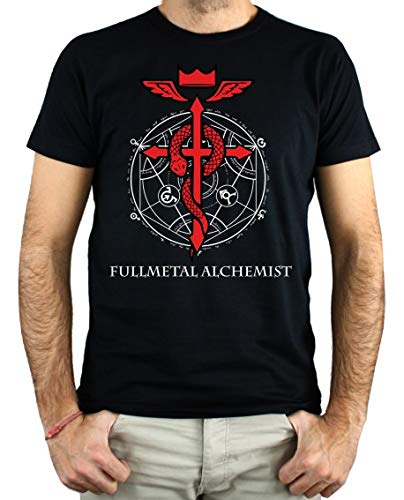 PLANETACAMISETA Camiseta Hombre - Unisex Full Metal...