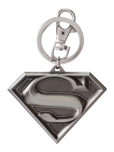 Superman Logo Llavero Standard, Metal,