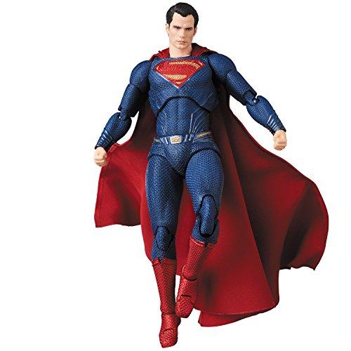 Medicom DC Comic Justice League Superman Mafex Figura De...
