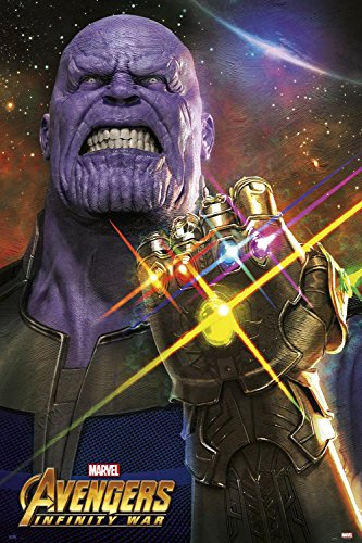 Close Up Póster Marvel Avengers Infinity War - Thanos (61cm...