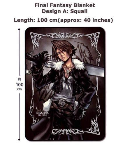 JAPAN OFFICIAL Manta Final Fantasy Dissidia 100cm Squall...