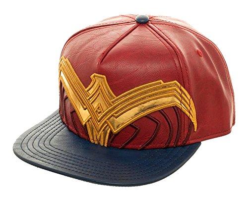 Bioworld DC Comics Wonder Woman Suit Up Applique Snapback...