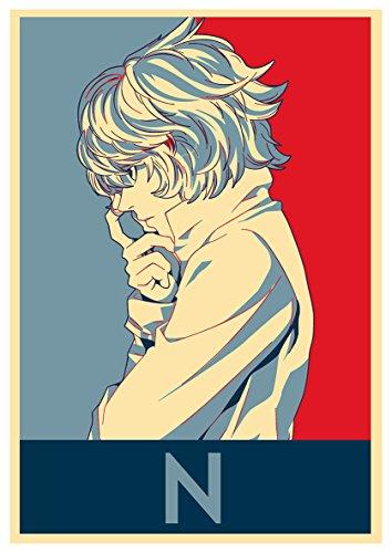 Instabuy Posters Death Note Propaganda Near - A3 (42x30 cm)