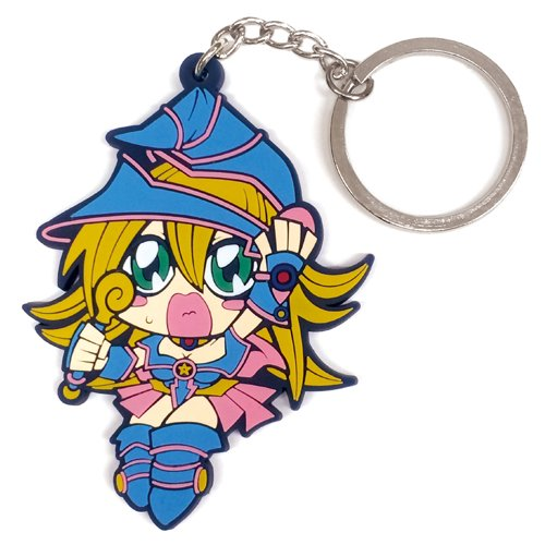 COSPA Yu-Gi-Oh! Tsumamare Key Ring Ragazza Maga Nera / Dark...