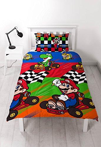 """Nintendo Juego de edredón de Mario Champs"""", tamaño..."""