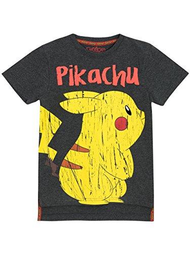 Pokemon - Camiseta para niño Pikachu - 7 a 8 Años