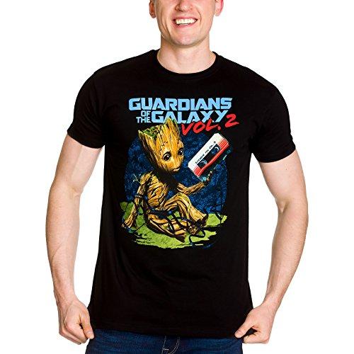 Guardianes de la Galaxia Vol. 2 de la Camiseta de los...