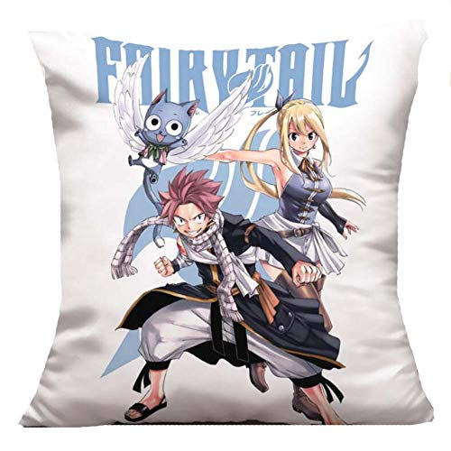 Etruke Anime Fairy Tail Erza Scarlet Gray - Cojín de...
